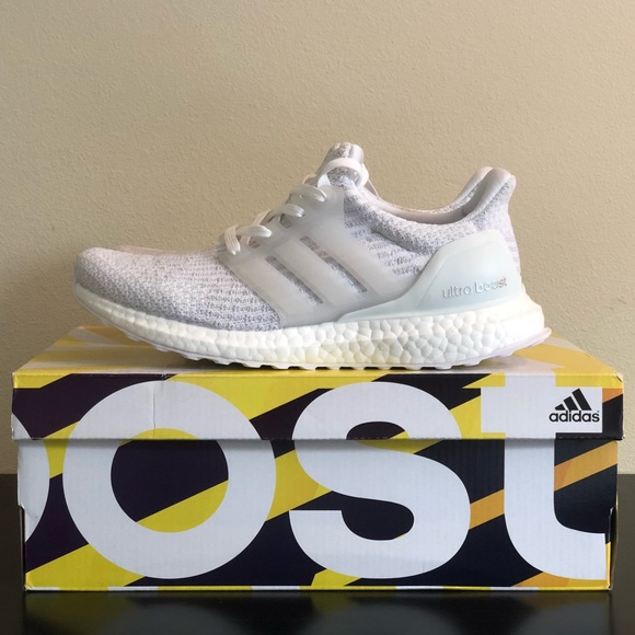 Adidas zapatos ultra BOOST 30 triple poshmark blanco
